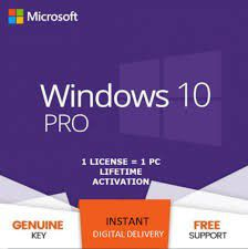 Physical Activation/Product Key Windows 10 Home [&PRO]