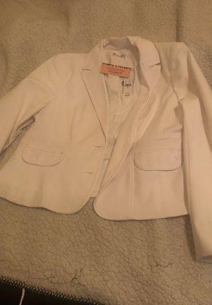White Blazer Jacket for Sale in Fresno, CA