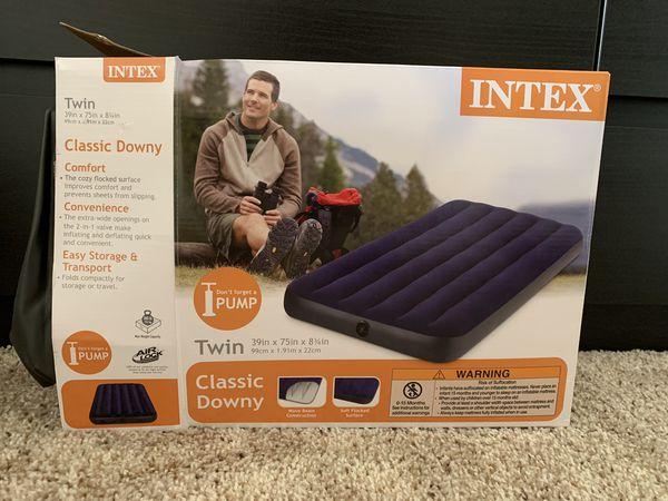 Intex Air Mattress Twin