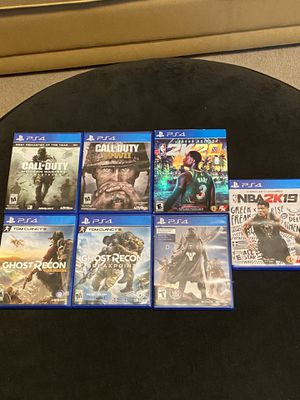 PS4 Game Collection (Need Gone ASAP) for Sale in Clackamas, OR