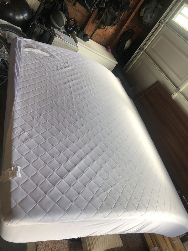 Wood ikea king size bed