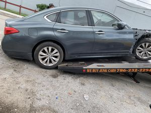 2012 infiniti M37 carros para partes for Sale in Opa-locka, FL