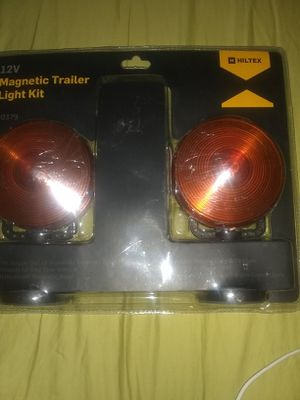 12 volt magnetic trailer light kit.new for Sale in Alvarado, TX