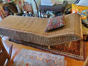 """Antique wicker """"fainting couch"""" for Sale in Oakland, CA"""
