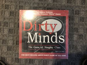 Board Game Dirty Minds for Sale in Annandale, VA