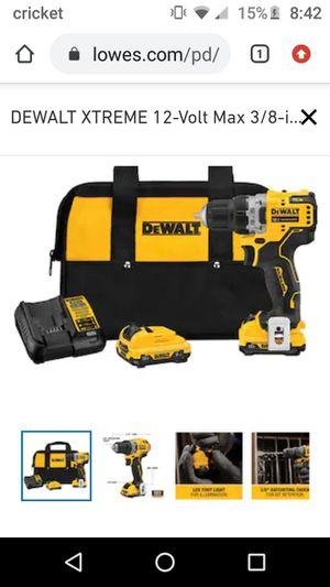 12v DeWalt drill for Sale in Lexington, NC