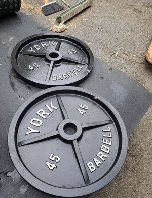 45 pound york plates for Sale in Rockville, MD