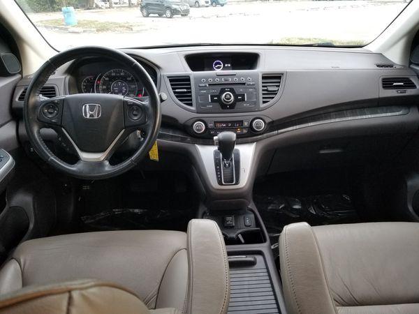 2013 HONDA CRV EXL