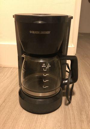 Black and Decker mini coffee maker for Sale in Portland, OR