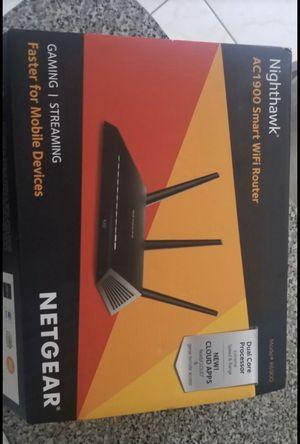 Netgear AC1900 smart wifi router (R6900) for Sale in Miami, FL