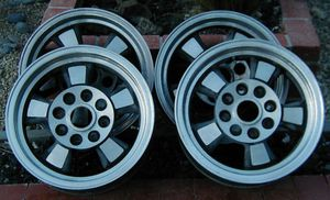 Porche 914 Riviera wheels (set of 4) VW for Sale in San Bernardino, CA