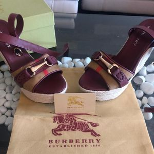 Burberry Wedges for Sale in Tampa, FL