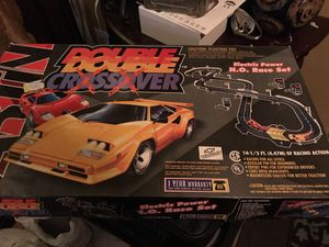 Artin double double crossover race car set for Sale in Durham, NC