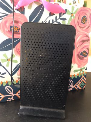 NETGEAR modem router - N600, C3700 for Sale in Prospect Heights, IL