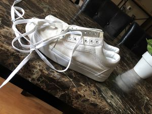 White vans sz8.5 for 25 for Sale in San Jose, CA