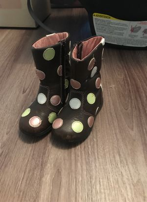 Pediped baby girl boots 5.5c for Sale in Randleman, NC