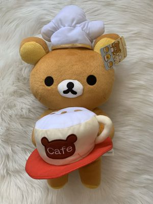 Medium Sized Rilakkuma Cafe Bear Plush for Sale in Stephens City, VA