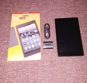 "Amazon Fire HD 8 Tablet (8"" HD Display, 16 GB) - Black for Sale in Kansas City, MO"