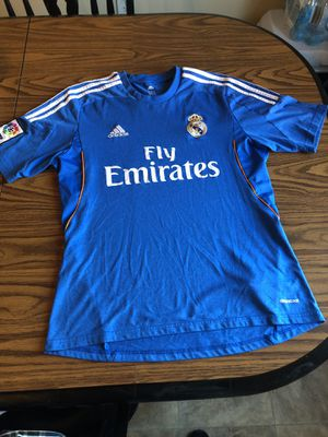 ADIDAS REAL MADRID SHIRT for Sale in Alexandria, VA