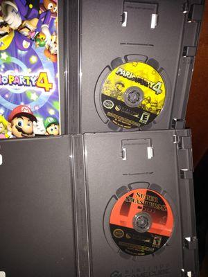 Smash Bros Melee, and Mario Party 4 for Sale in Dallas, TX
