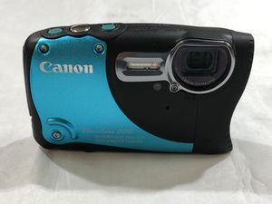 Canon Powershot D20 12.1 Mp Waterproof Digital Camera With Charger **Great Buy** 10012431-1 for Sale in Tampa, FL