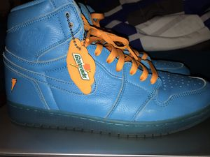 Air Jordan Blue Lagoon Gatorade 1's size 12 for Sale in New Orleans, LA