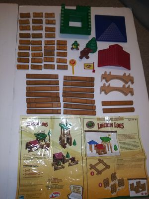 The Original Lincoln Logs Building Set, Frontier Outlook, FULL SET! for Sale in Victoria, TX