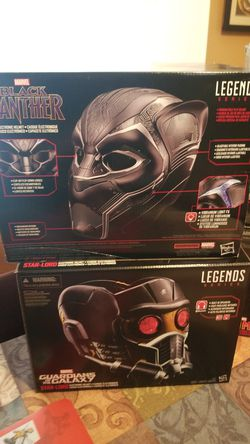 Marvel Legends series Black Panther Star-Lord Ant-Man Iron Man gauntlet Captain America shield for Sale in Turlock,  CA
