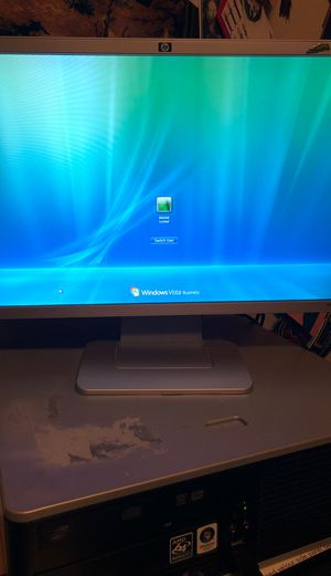HP monitor and hard drive for Sale in San Antonio, TX