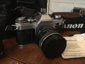 Canon AE-1 camera and accessories for Sale in Hialeah, FL
