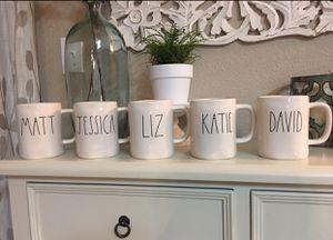 RAE DUNN Mugs ... each $11. for Sale in Visalia, CA