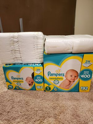 Pampers Swaddlers for Sale in Longmont, CO