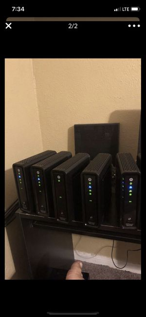 Cable modem WiFi for Sale in Houston, TX