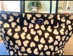 Never used! Kate Spade heart leather tote for Sale in Dearborn, MI