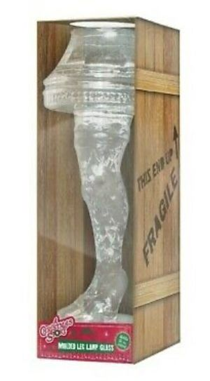 Brand New Molded Leg Lamp Glass - holds 18oz for Sale in Seattle, WA