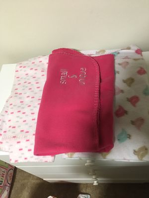 $5 for four baby blankets for Sale in Washington, DC