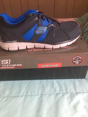 Steel Toe Shoes (Sketchers) 9 1/2 for Sale in Lexington, NC