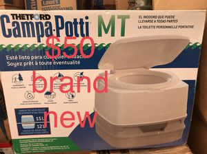 Brand new camping porta potty for Sale in East Wenatchee, WA