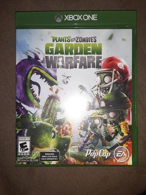 Xbox One game Plants Vs. Zombies for Sale in Glendale, AZ