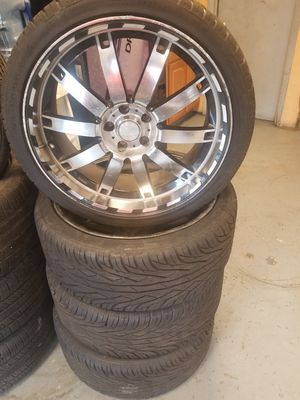 4 New Tires Used Rims 245/35/20 for Sale in St. Louis, MO