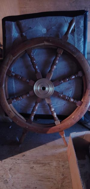 $199 ship wheel obo for Sale in Seattle, WA