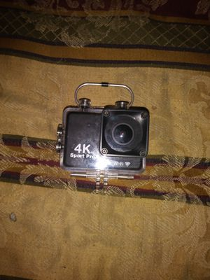 4K Sport Pro Minni Action Cam With Wi Fi for Sale in Beaumont, TX