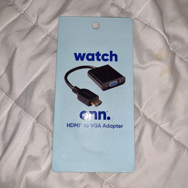 Onn Watch HDMI VGA adapter brand new