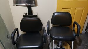 Salon Chair and Dryer Chair 300 obo for Sale in Houston, TX
