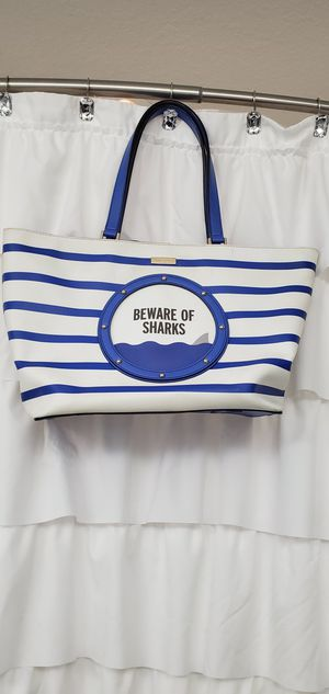 "Kate Spade ""Beware of Sharks"" purse $40 for Sale in Tampa, FL"