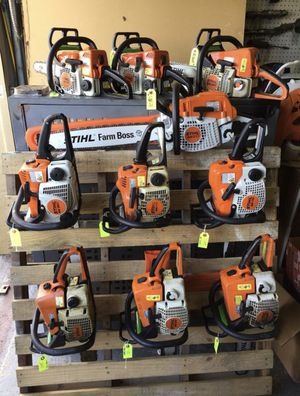 New & Used Stihl Chainsaws Blowers & Honda Generators Available! for Sale in Miami Gardens, FL