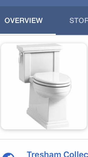 Kohler one piece toilet. New in box style 3981 for Sale in Tulsa, OK