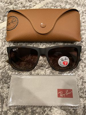 New Ray-Ban Rb4165 865/T5 Justin Tortoise Polarized Sunglasses for Sale in Menifee, CA