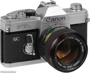CANON FTB CANON 50/1.8 35mm. for Sale in Hanford, CA