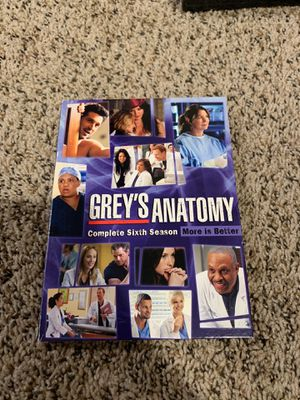 Grey's Anatomy season 6 for Sale in Glendale, AZ